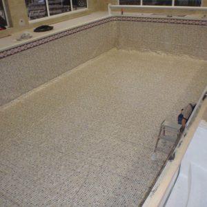 budowa basenu wewnętrznego z bloczków