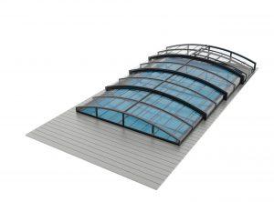 ATLANTA Zadaszenie basenu z aluminium i poliwęglanu