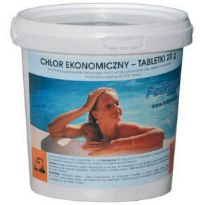 Chlor ekonomiczny - tabletki do basenu