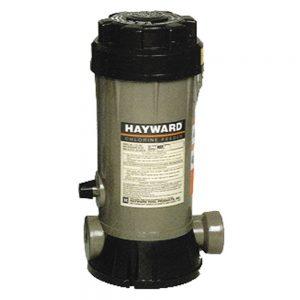 Chlorator jest to pojemnik na duże pastylki chlorowe po 200g, pół automatyczne dozowanie chloru.
