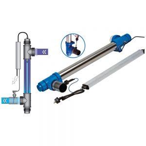 Lampa UV 130 W do basenu 100 m3. Wytwarzane promieniowanie ultrafioletowe - UV-C zapewnia świeżą, czystą i klarowną wodę.