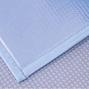 Pianka poliuretanowa o grubości 5 mm zamawiana na dokładny wymiar basenu w Wielkiej Brytanii.